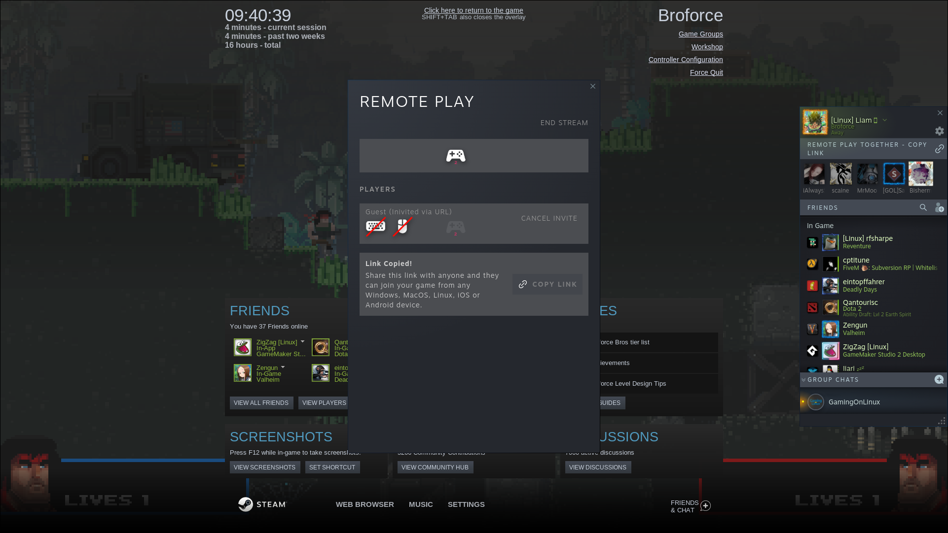 Valve launch a Beta for Remote Play Together - Invite Anyone, no Steam account needed