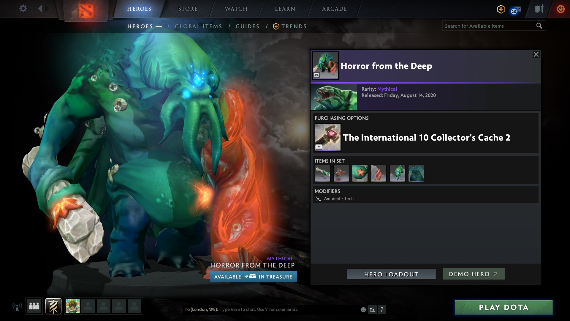 Dota 2 The International 10 Close To A Record For The Battle Pass New Collector S Cache Gamingonlinux