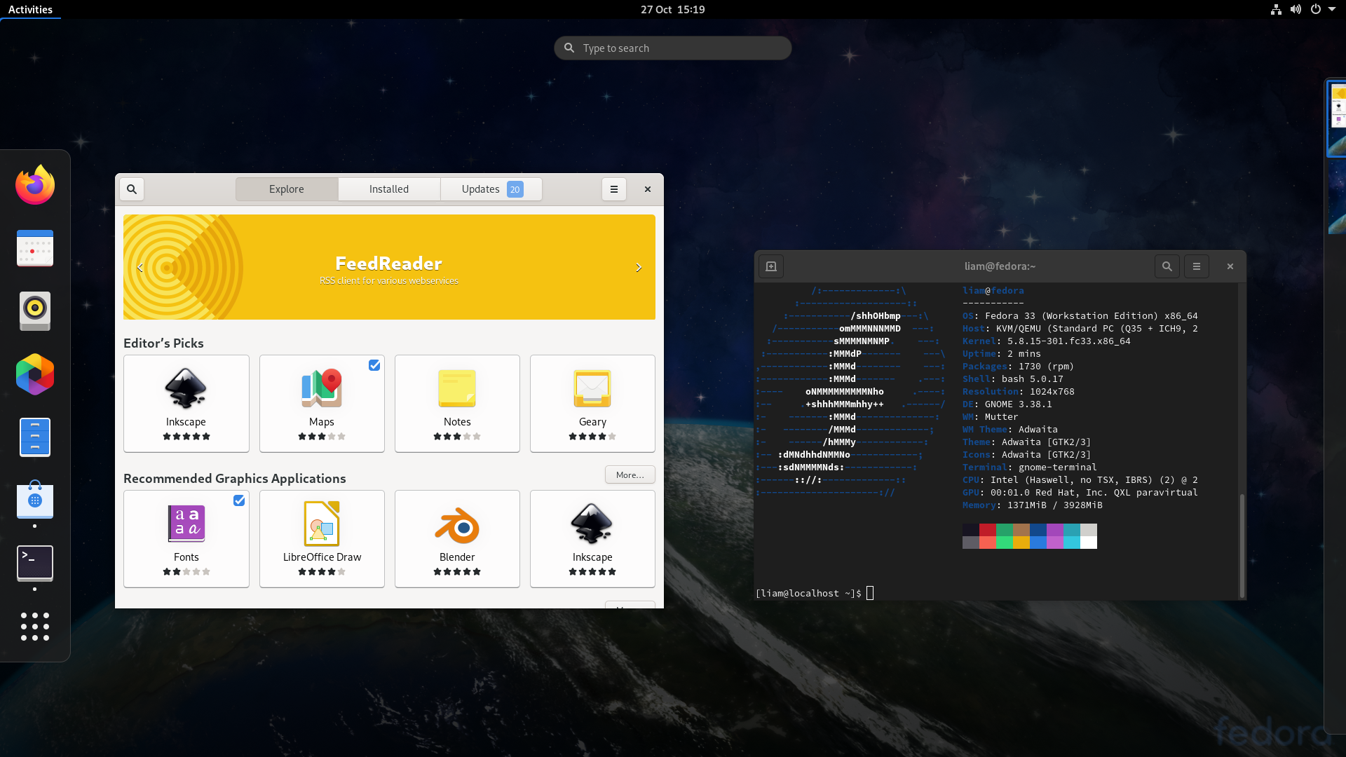 Fedora 33 Released With Lots Of Improvements To The Linux Desktop Gamingonlinux