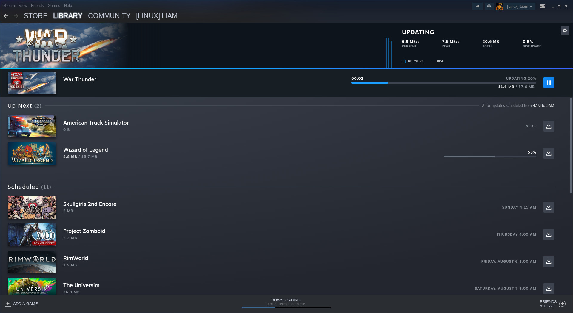 Steam gets new a Downloads page, new Steam Library manager and Linux improvements